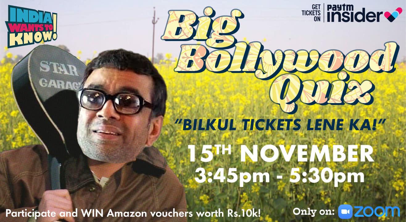 Big Bollywood Quiz by IWTK