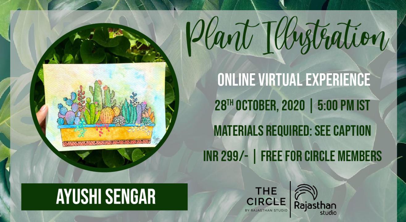 Plant Illustration Workshop by Rajasthan Studio