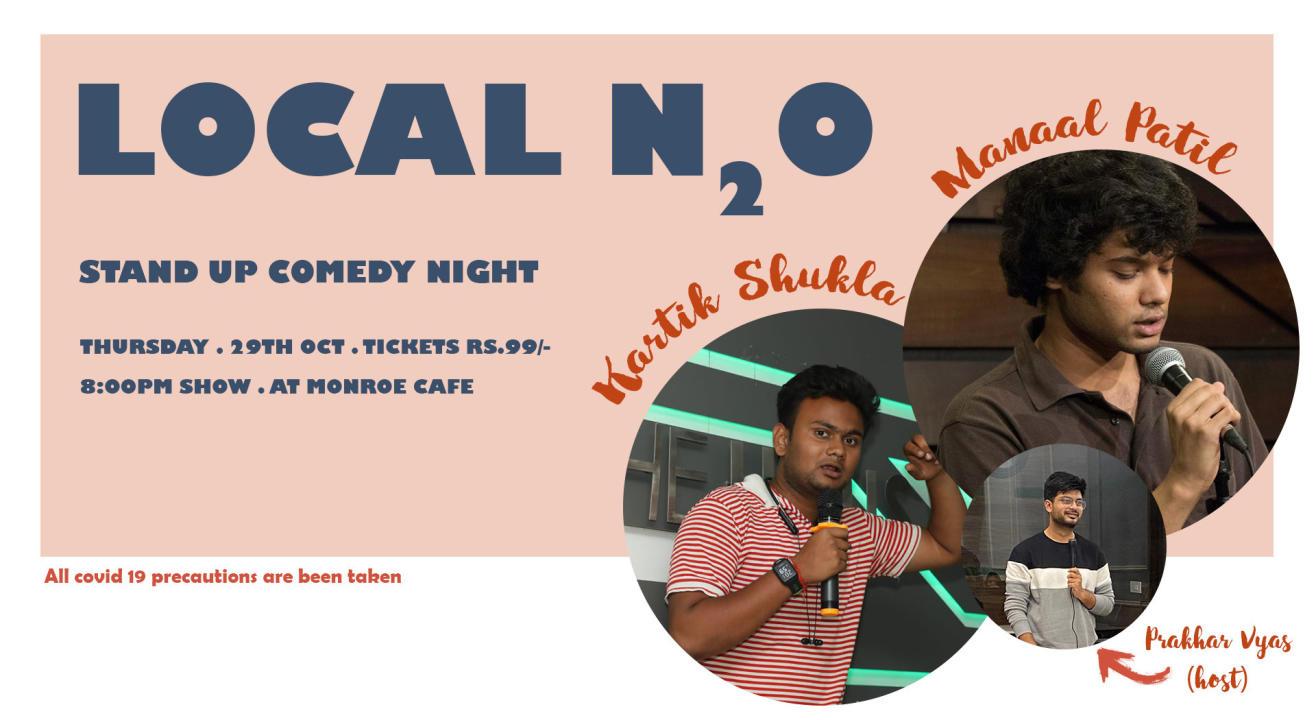 Local N2O: A Standup Comedy Show