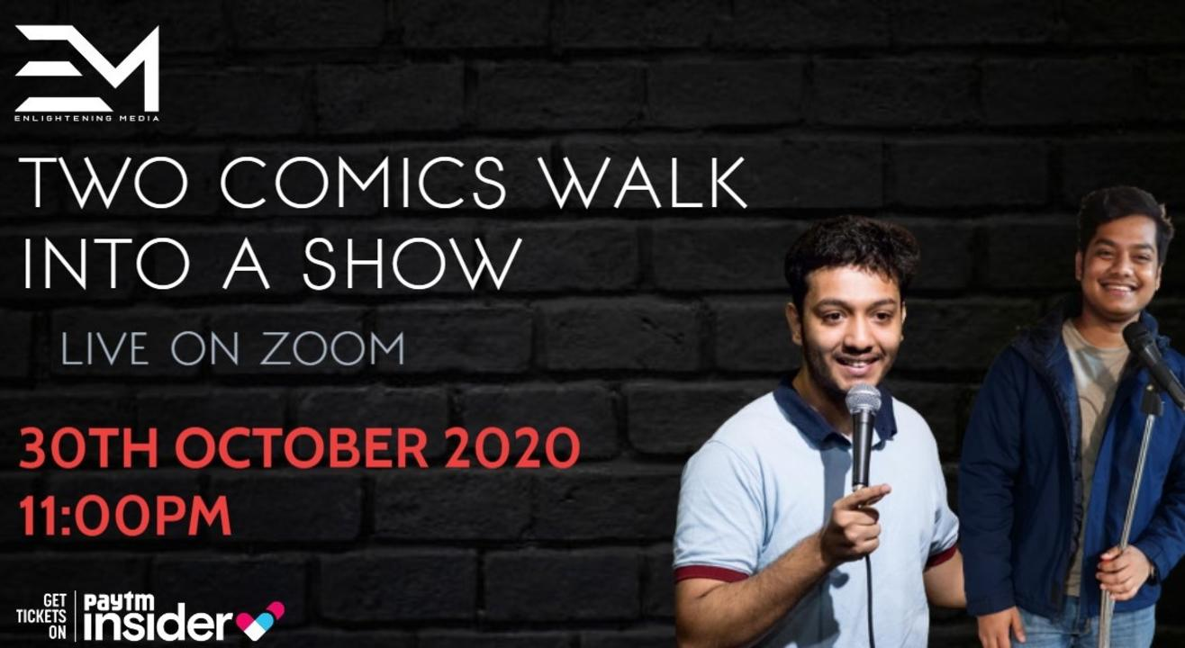 Two Comics Walk Into a Show Ft. Masoom Rajwani And Aakash Deep