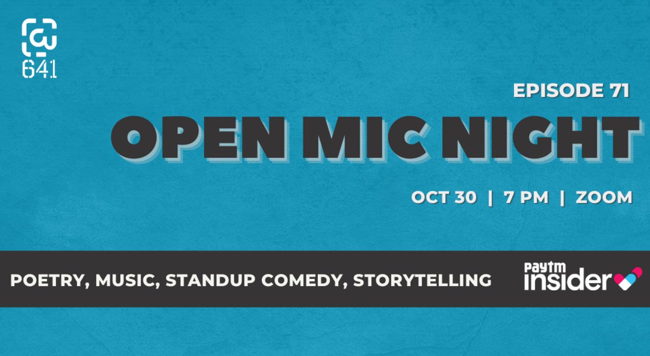 Open Mic Night - Episode 71