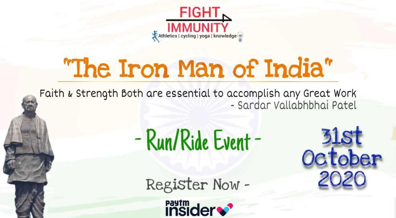 The Iron Man of India - Run/Ride Event