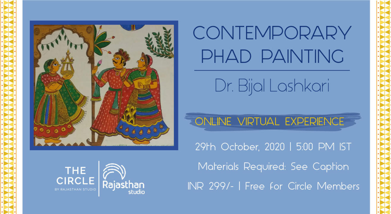 Contemporary Phad Painting Workshop by Rajasthan Studio