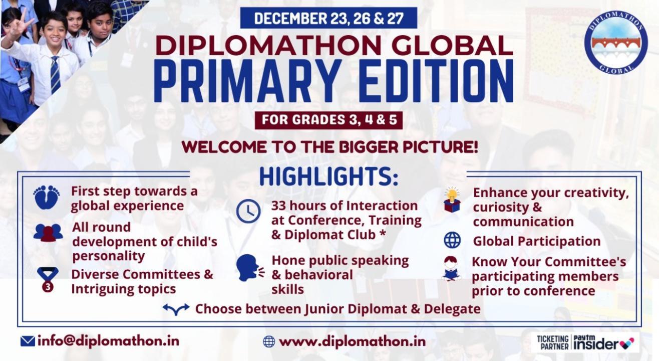 Diplomathon Global Primary Edition