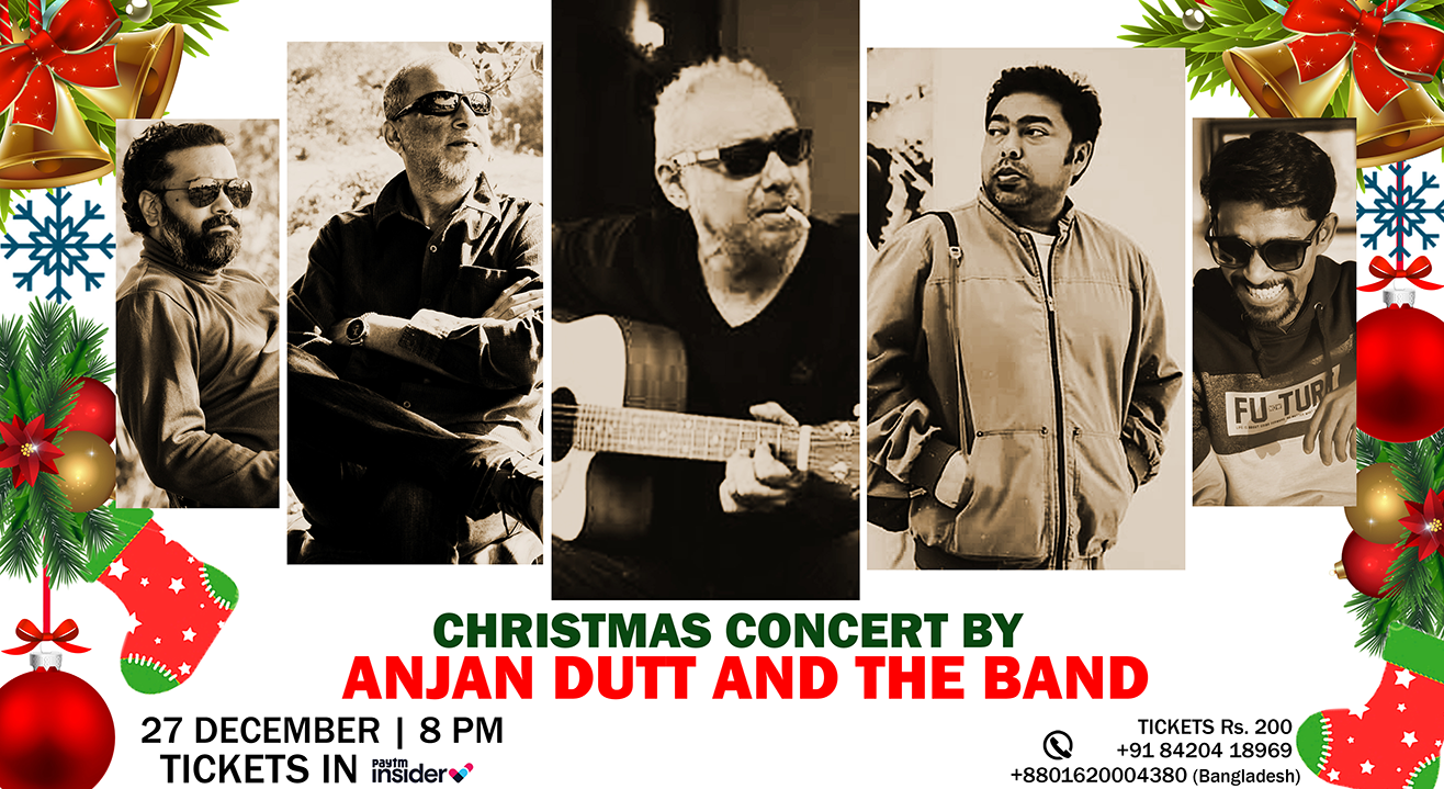 Christmas Concert by Anjan Dutt and The Band