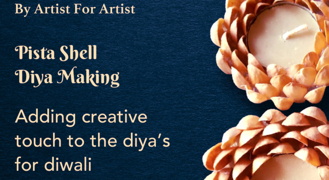 Diwali Special - Diya Making with Pista with BAFA