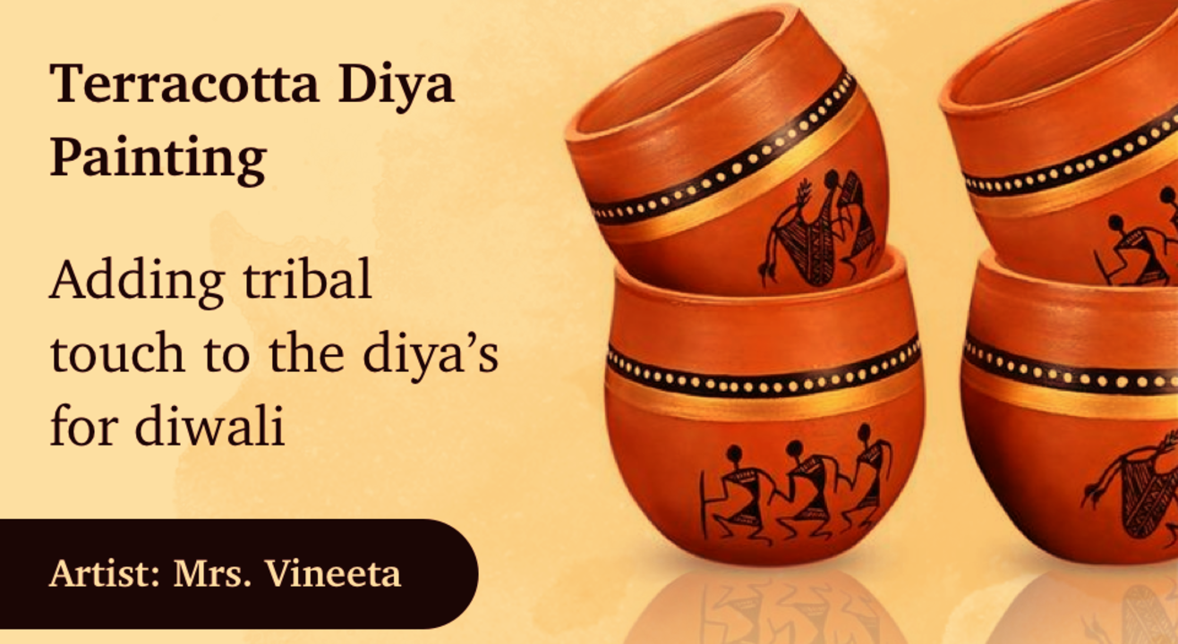 Diwali Special - Diya Painting with BAFA