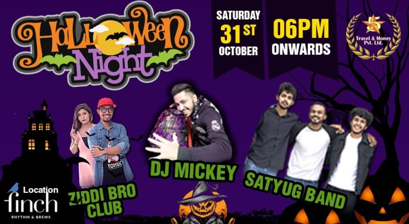 INDIA BIGGEST HALLOWEEN PARTY 2020