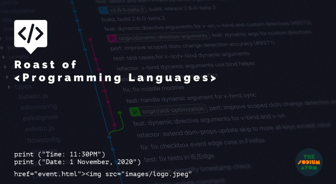 Roast of Programming Languages