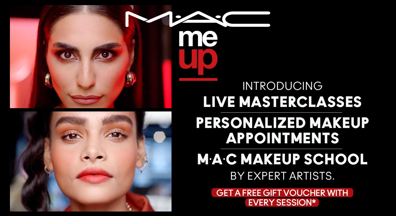 M·A·C Cosmetics India presents M·A·C ME UP