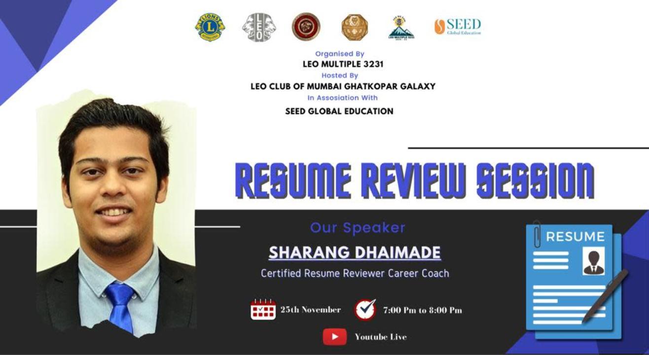 Resume Building Workshop