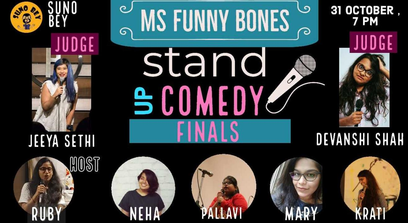 Ms. Funny Bones | An Online Standup Comedy Competition | Finals