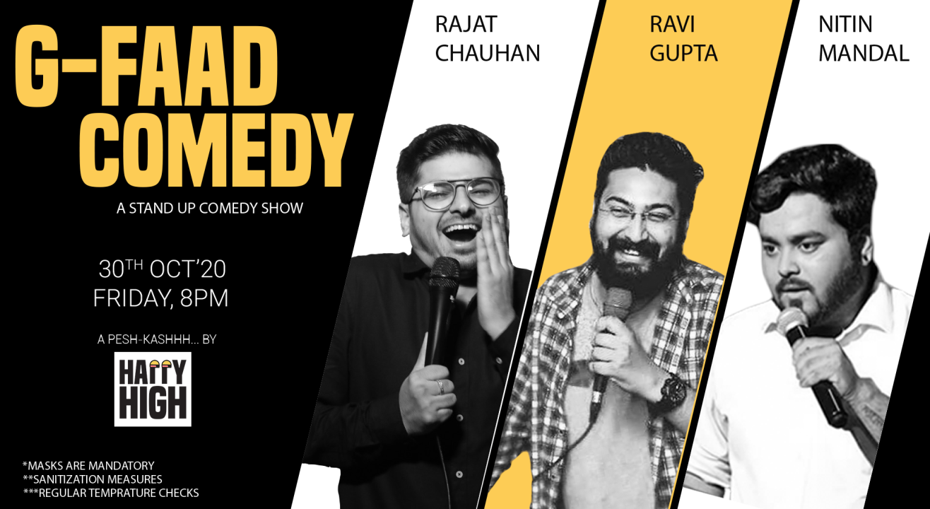 G-FAAD Comedy Ft. Rajat, Ravi & Nitin