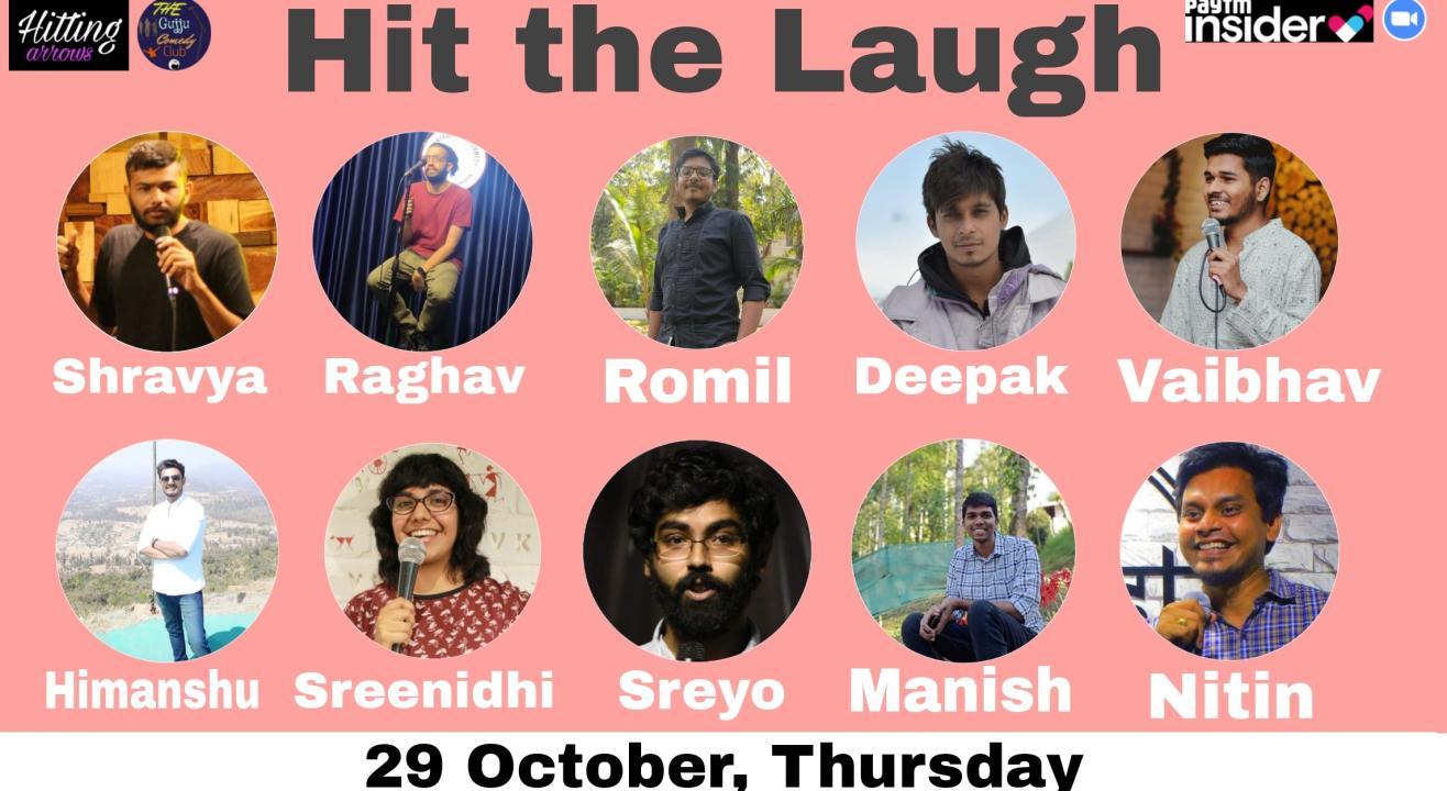 Hit the Laugh: Open mics