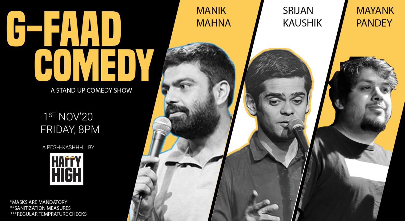 G-FAAD Comedy Ft. Manik, Srijan & Mayank