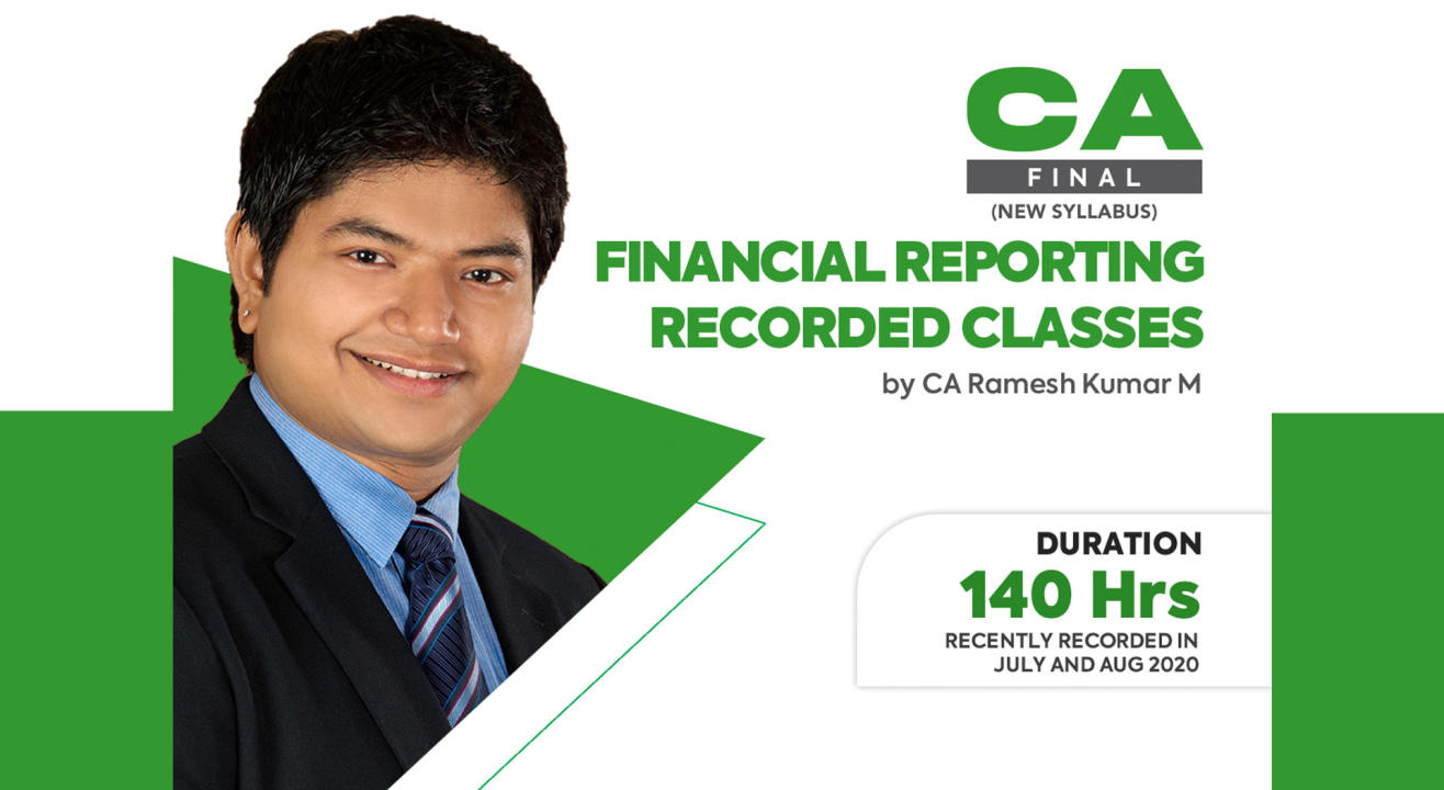 FINANCIAL REPORTING VIDEO LECTURES