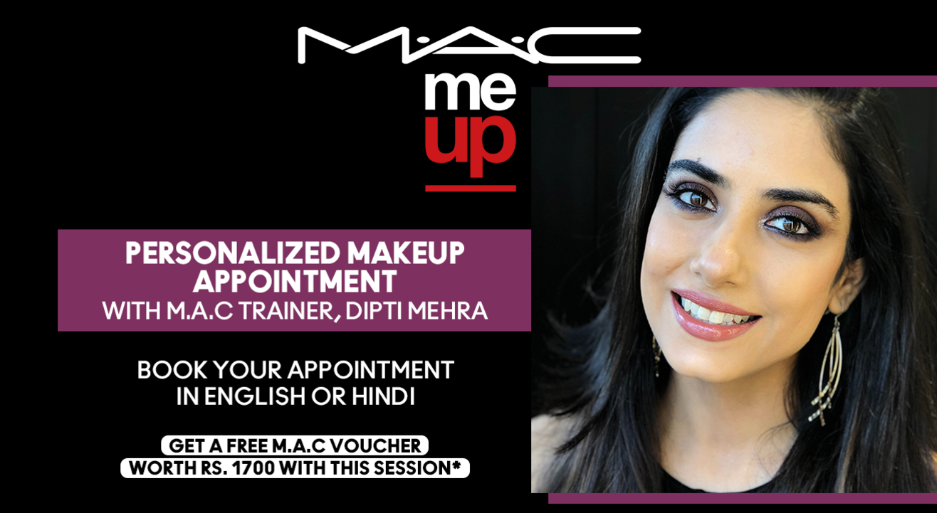 Personalized Makeup Appointment with Dipti Mehra | M.A.C Cosmetics