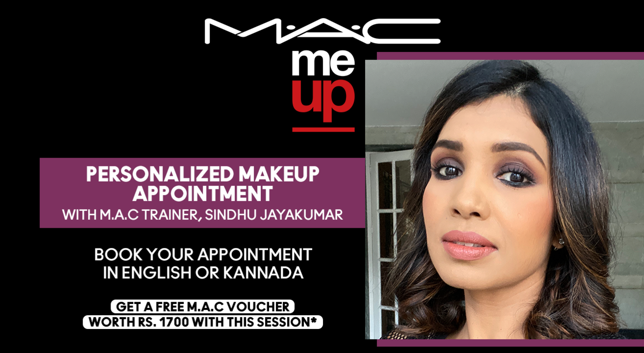Personalized Makeup Appointment with Sindhu Jayakumar | M.A.C Cosmetics