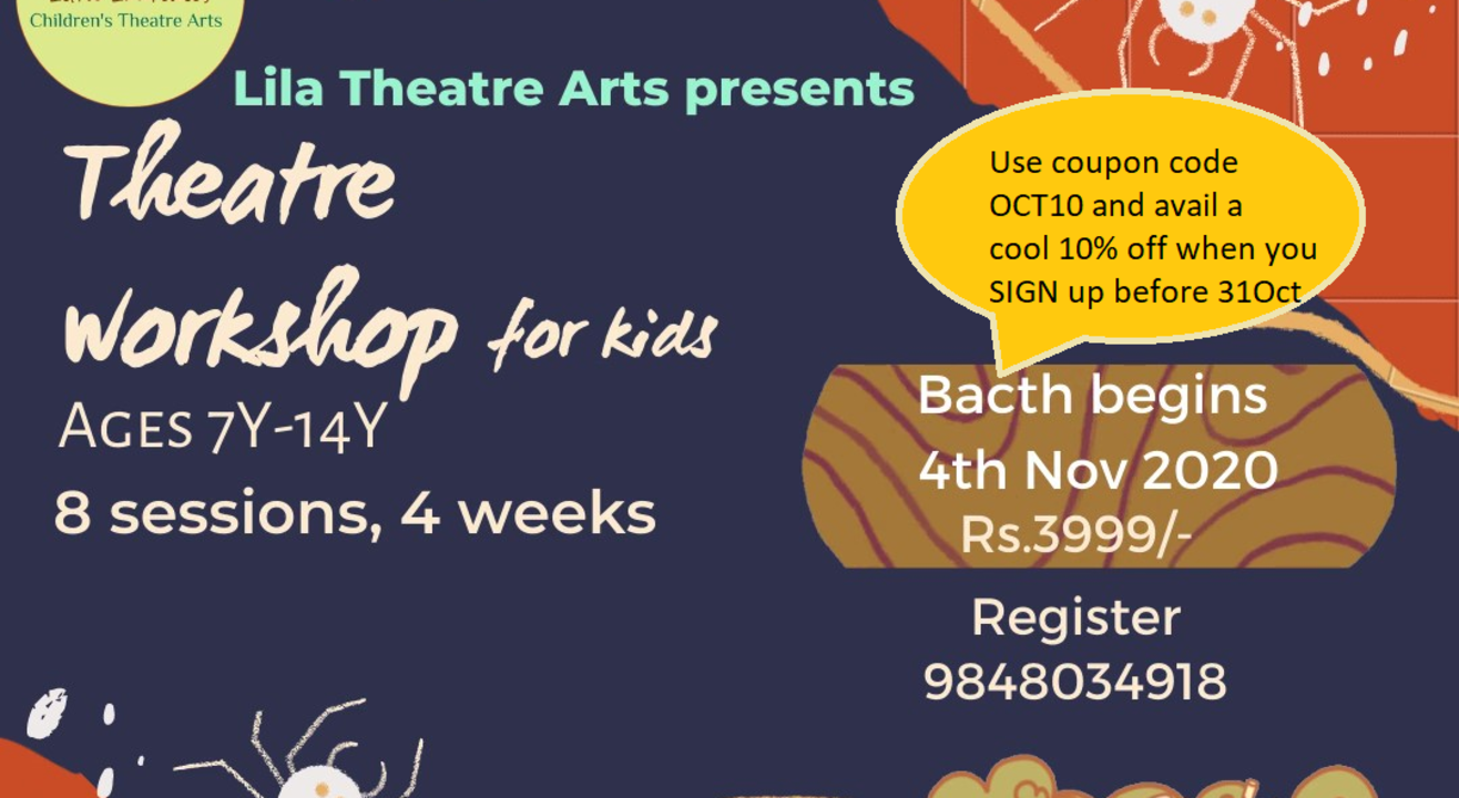 Theatre Workshop for kids - perform in a play loosely based on a Roald Dahl book