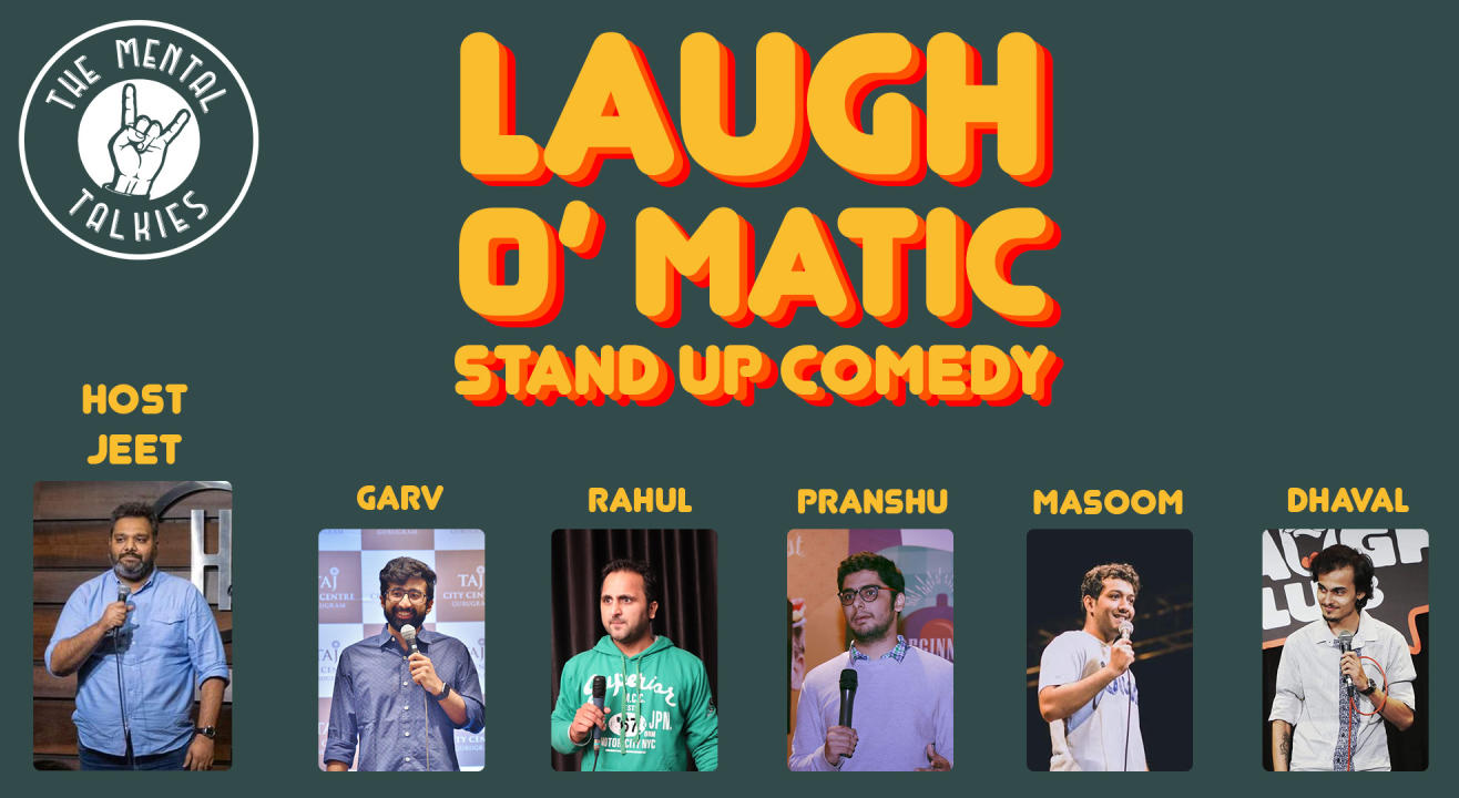 Laugh-O-Matic-Stand Up Comedy