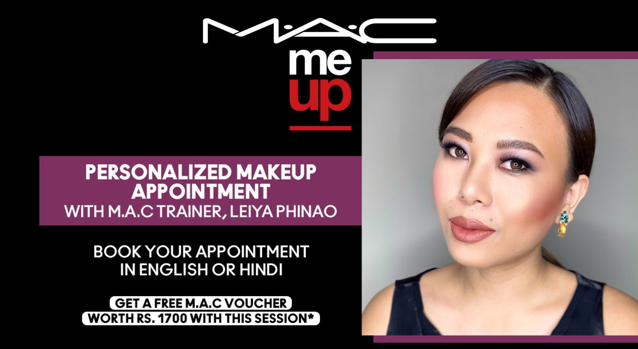 Personalized Makeup Appointment with Leiya Phinao | M.A.C Cosmetics