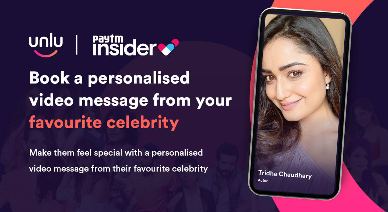 Personalised video message from Tridha Choudhury