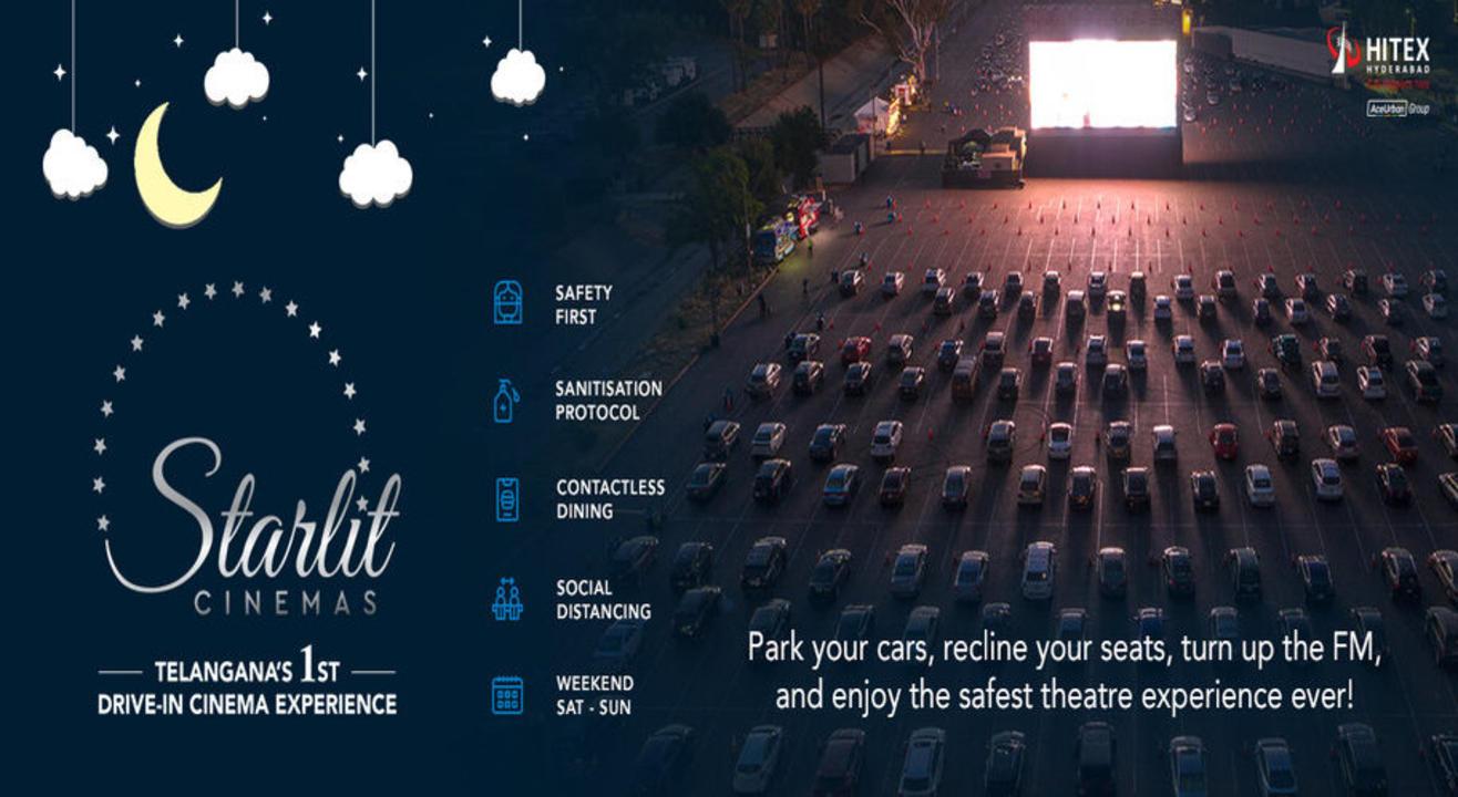Starlit Cinemas Drive-in Movie Nights