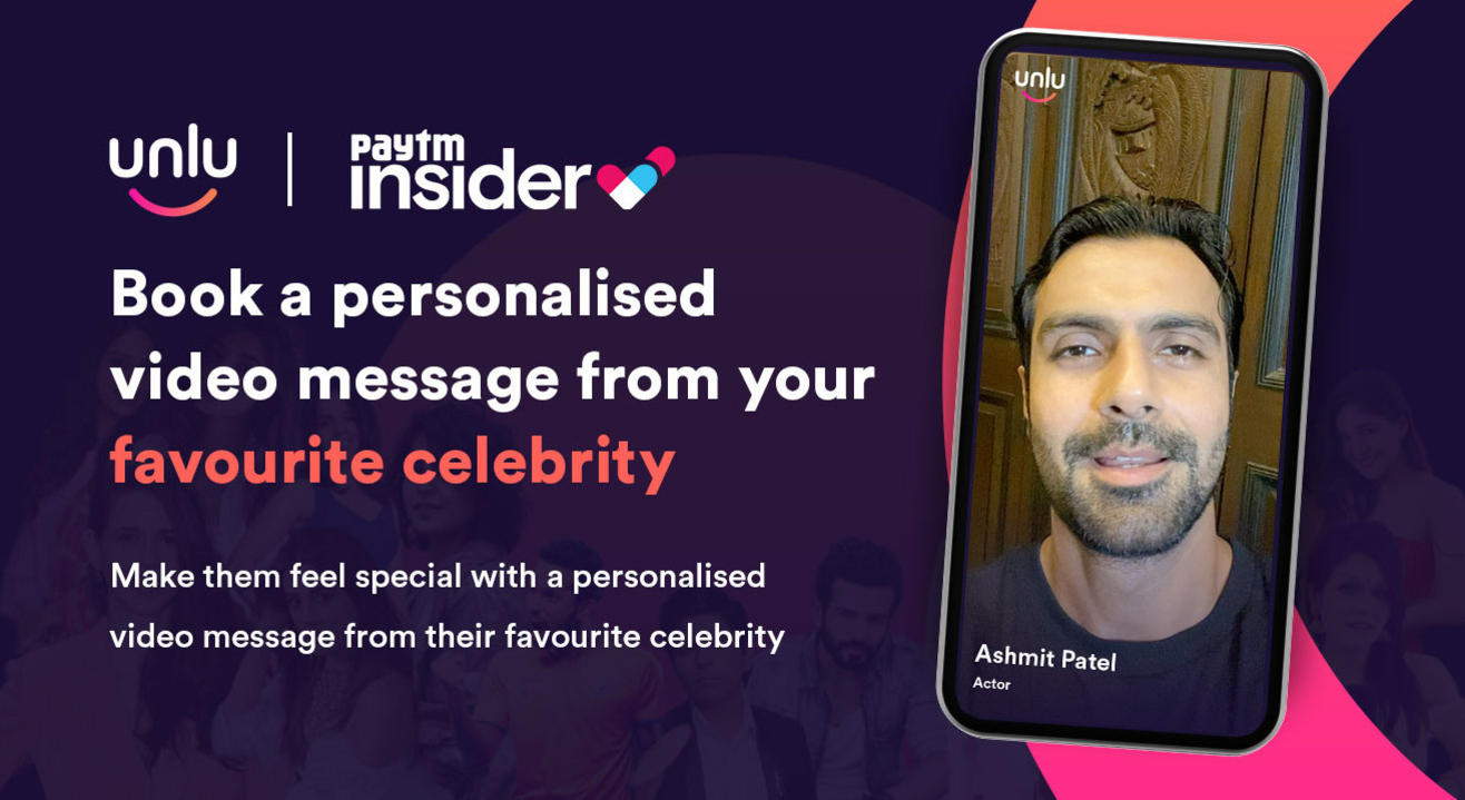 Book a personalised message from Ashmit Patel