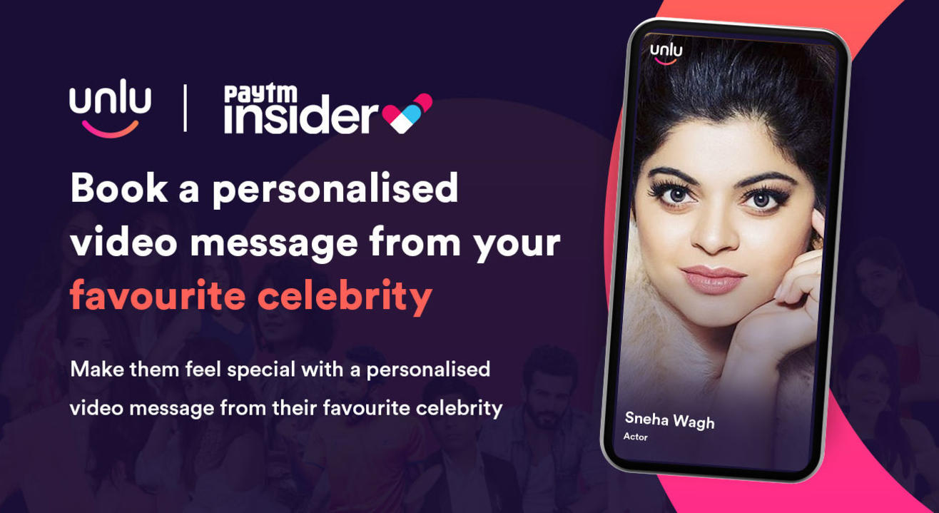 Book a personalised message from Sneha Wagh