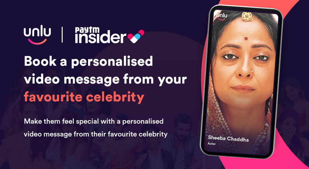 Book a personalised message from Sheeba Chaddha