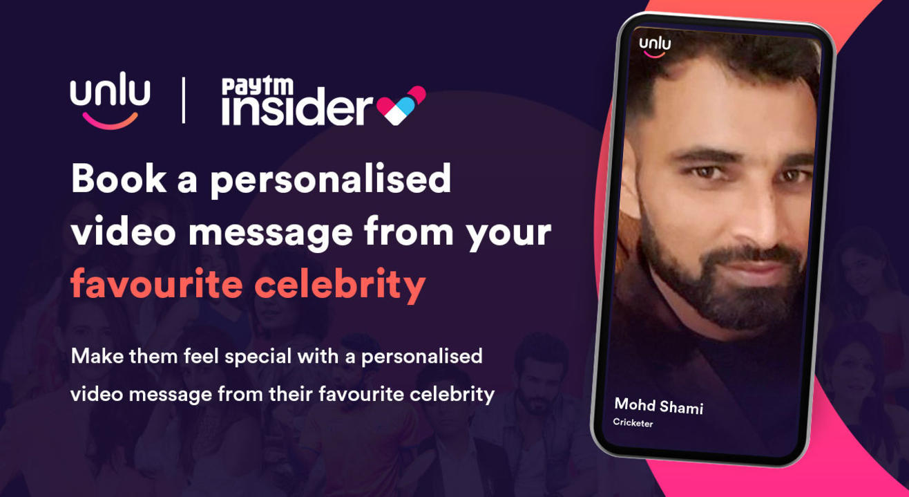 Book a personalised message from Mohammed Shami