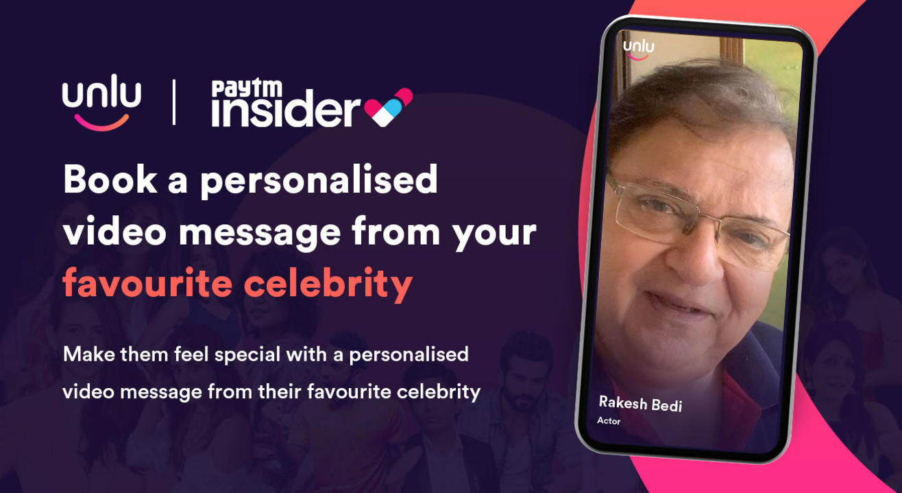 Book a personalised message from Rakesh Bedi