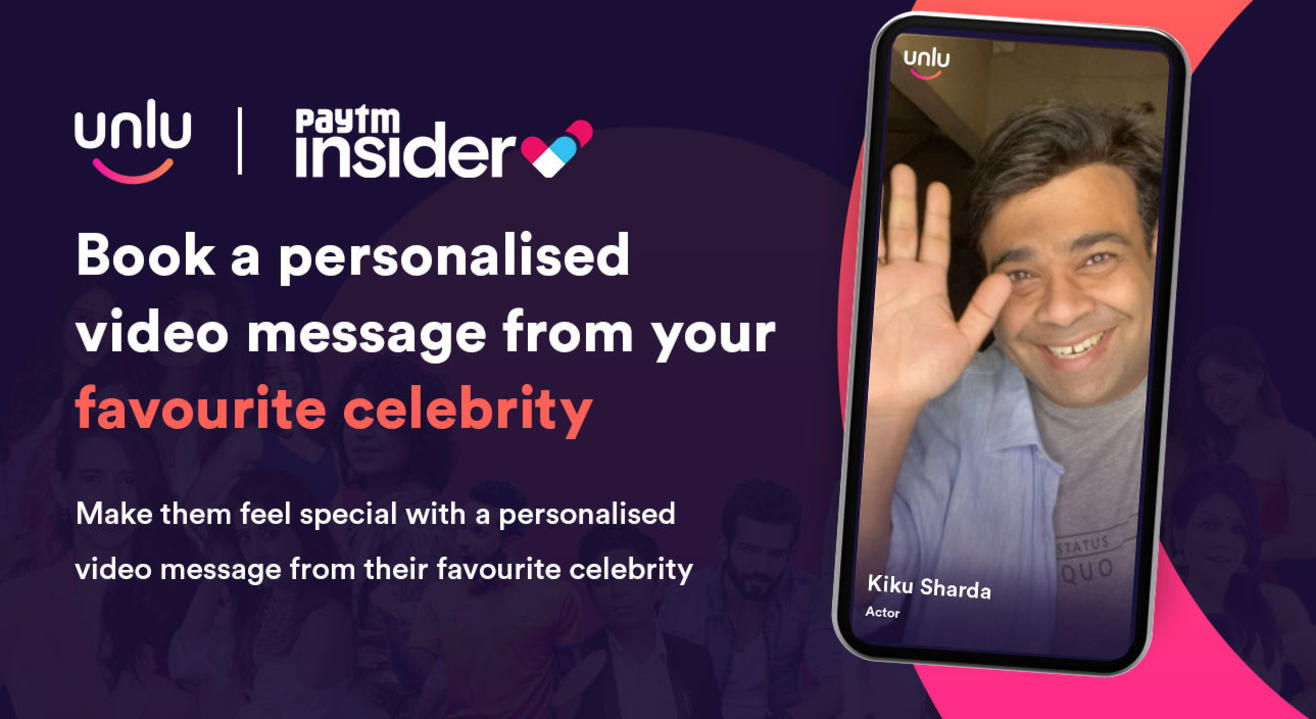 Book a personalised message from Kiku Sharda