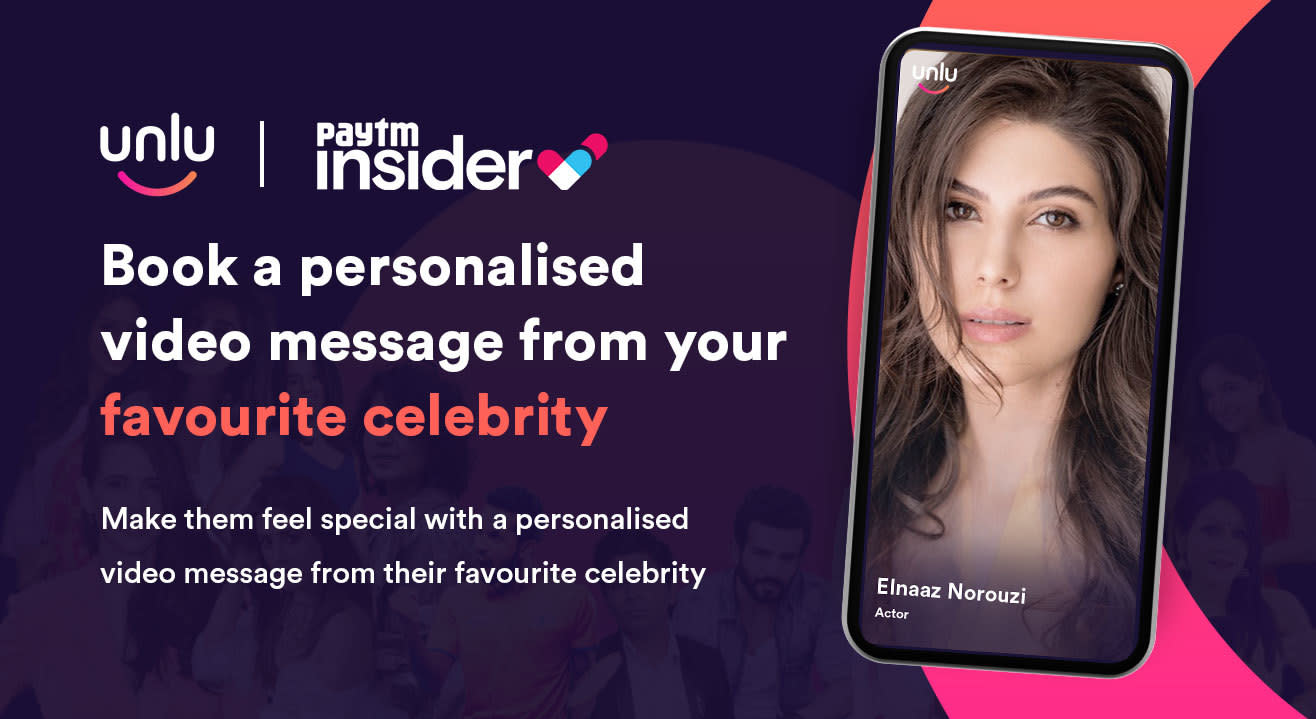 Book a personalised message from Elnaaz Norouzi