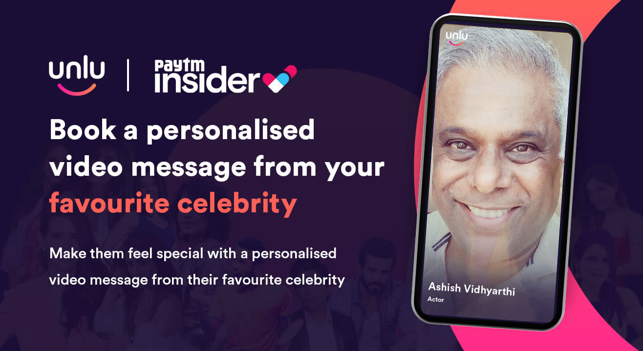 Book a personalised message from Ashish Vidhyarthi