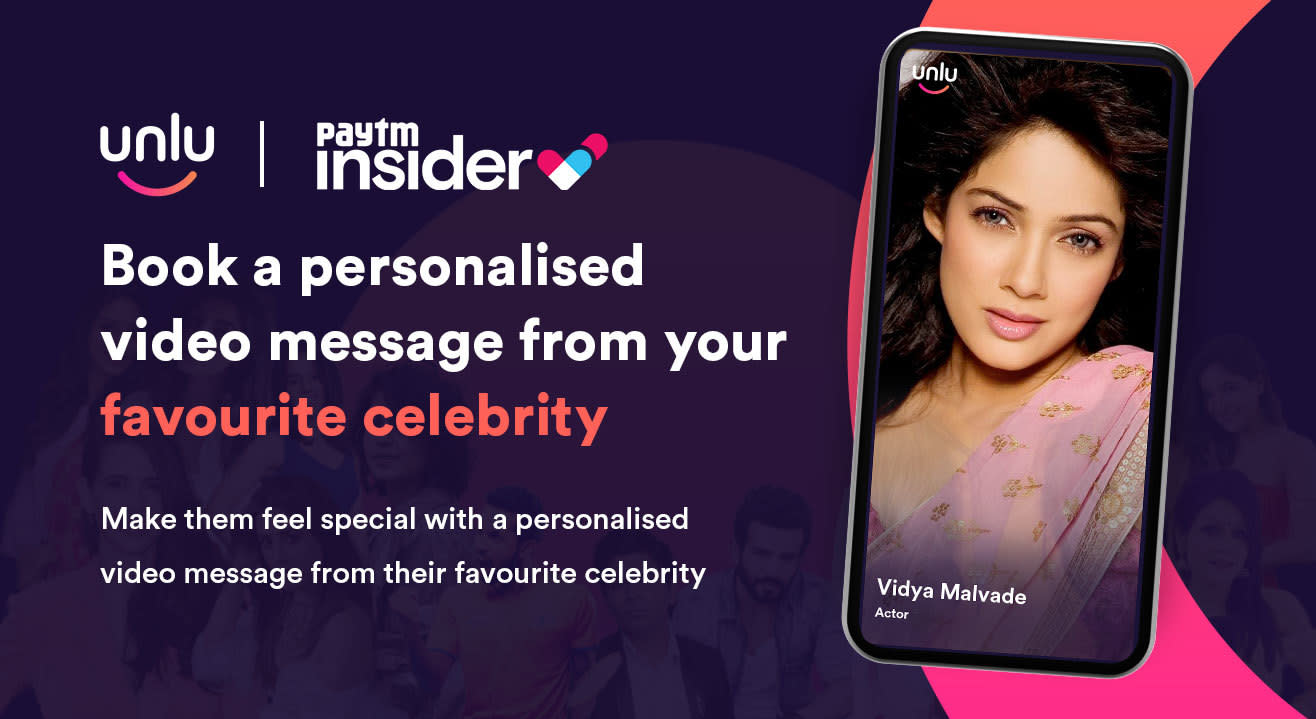 Book a personalised message from Vidya Malvade