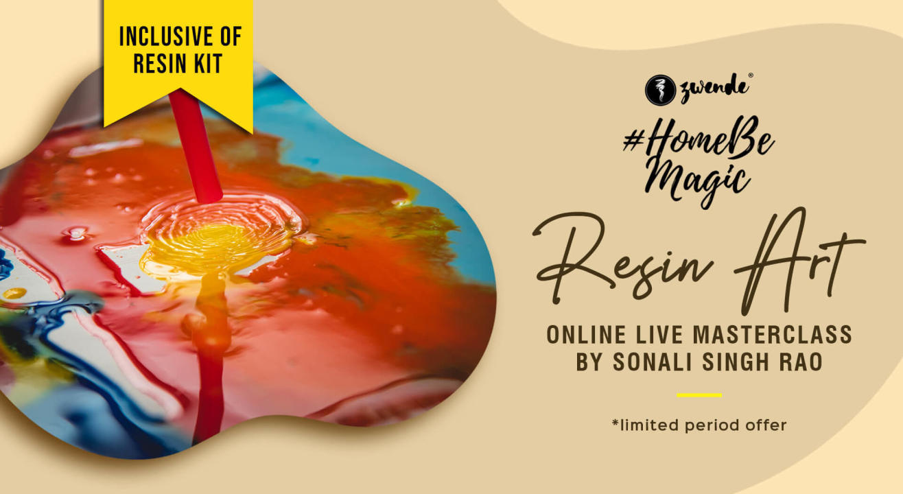 Resin Art Online Live Masterclass (Material Kit Available)