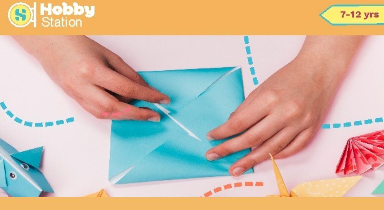 Hobbystation Origami Workshop for Kids