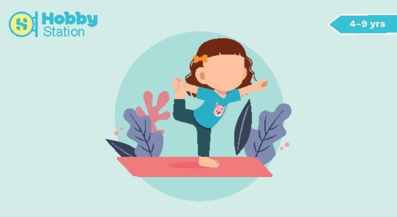Hobbystation Theme Based Yoga & Meditation Workshop for Kids( 4-9 years)