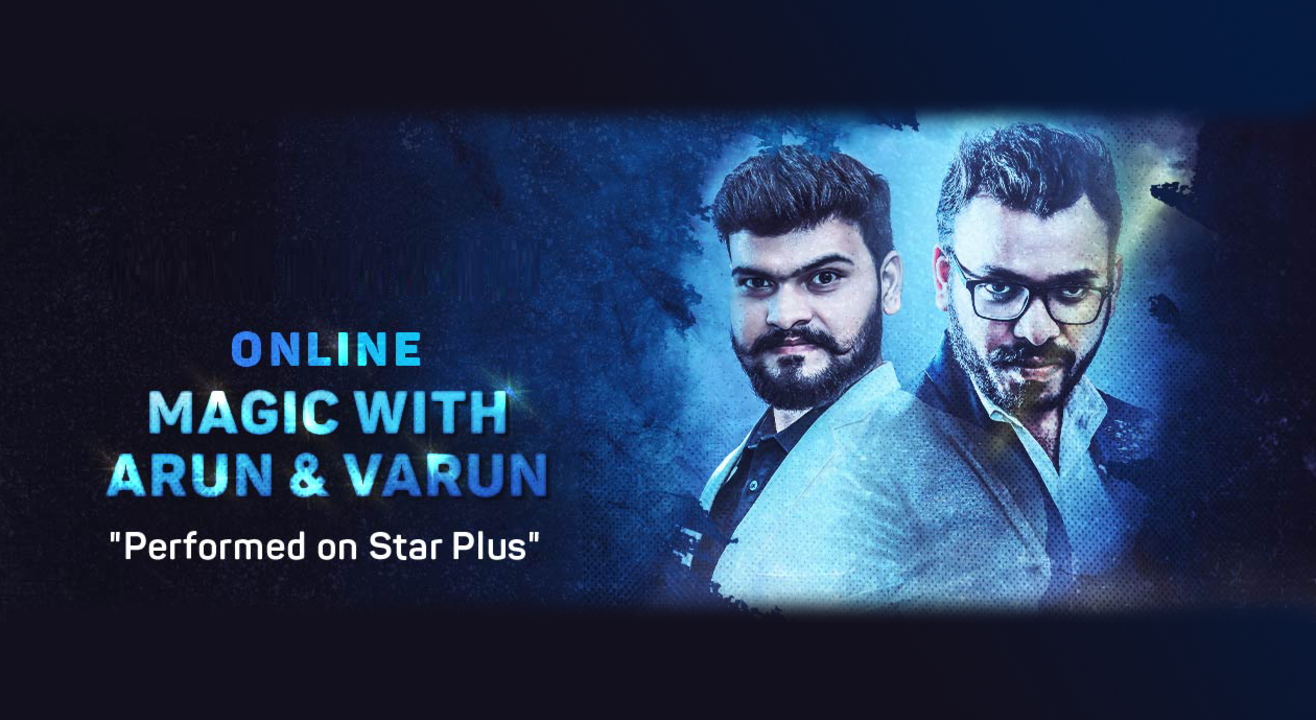 Online Magic with Arun & Varun (Festive special)