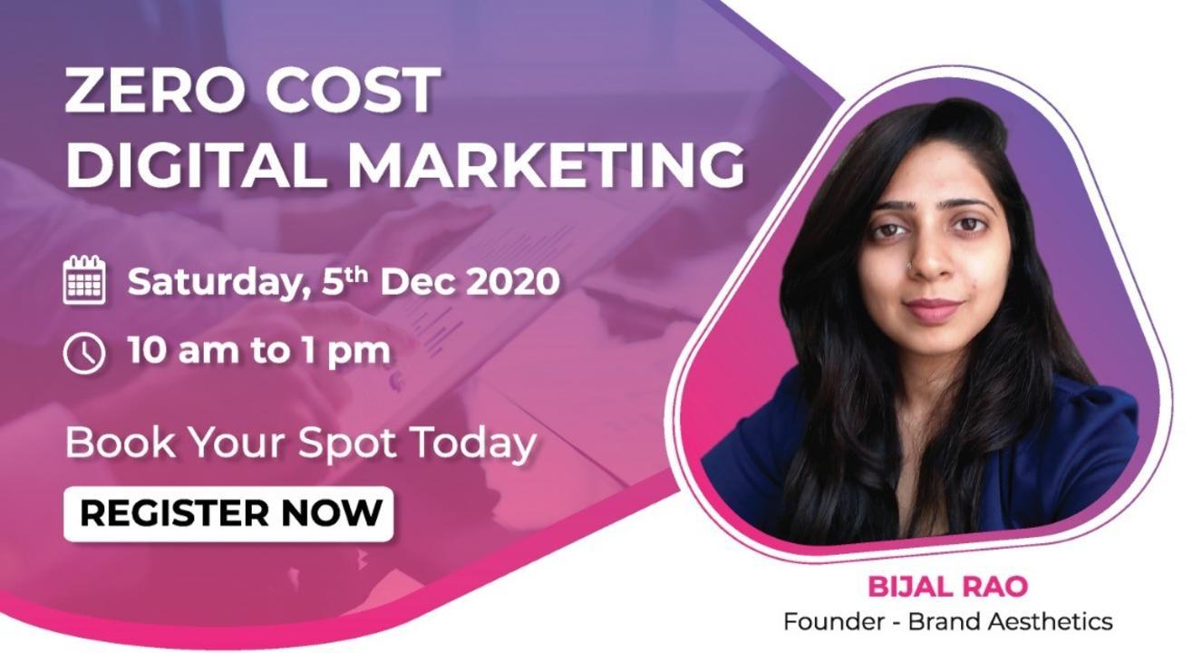 ZERO Cost Digital Marketing