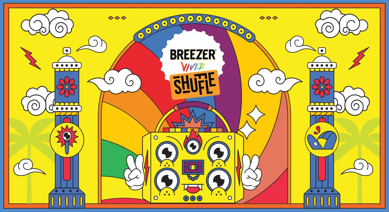 Breezer Vivid Shuffle is back - and this time, we're going digital