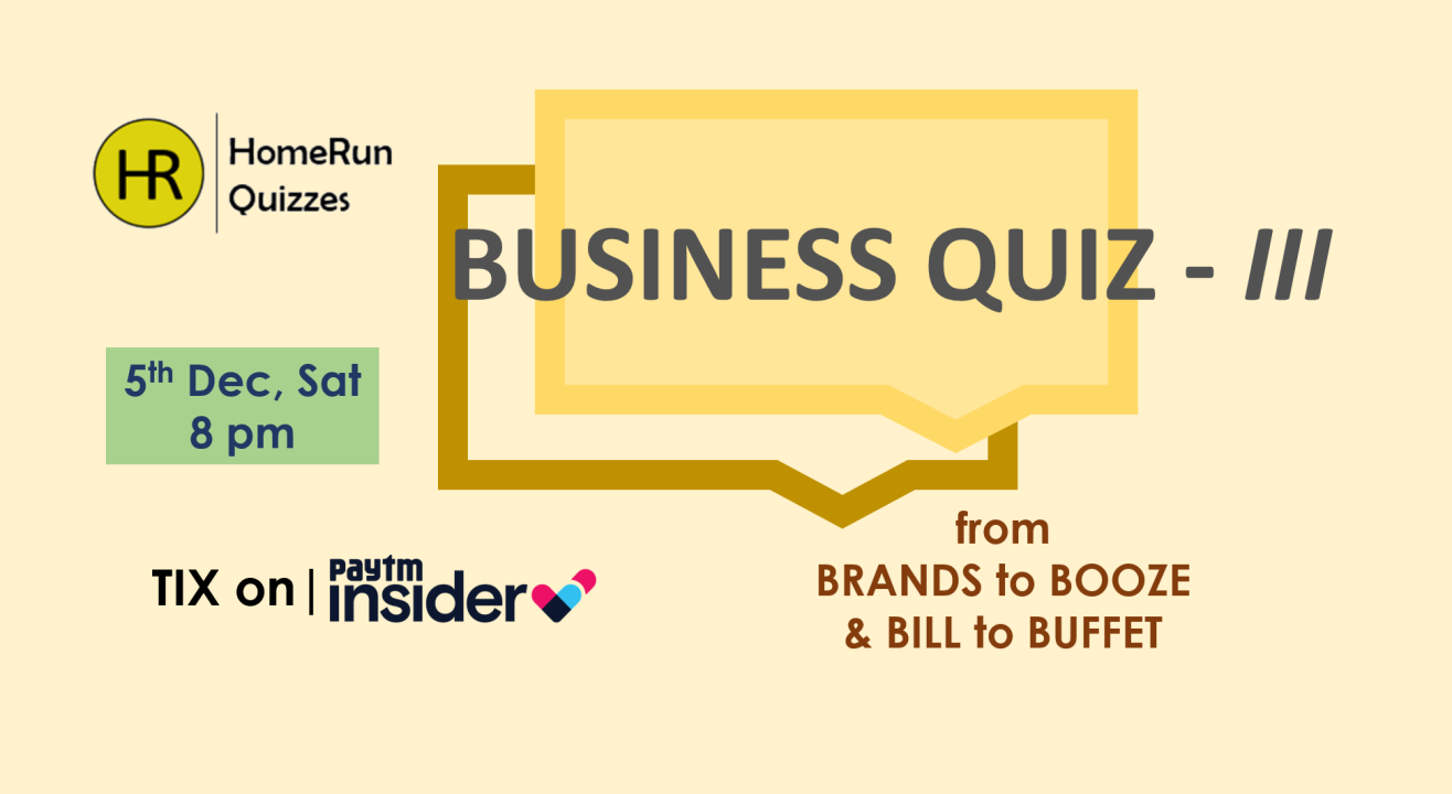 Business Quiz III by HomeRun Quizzes