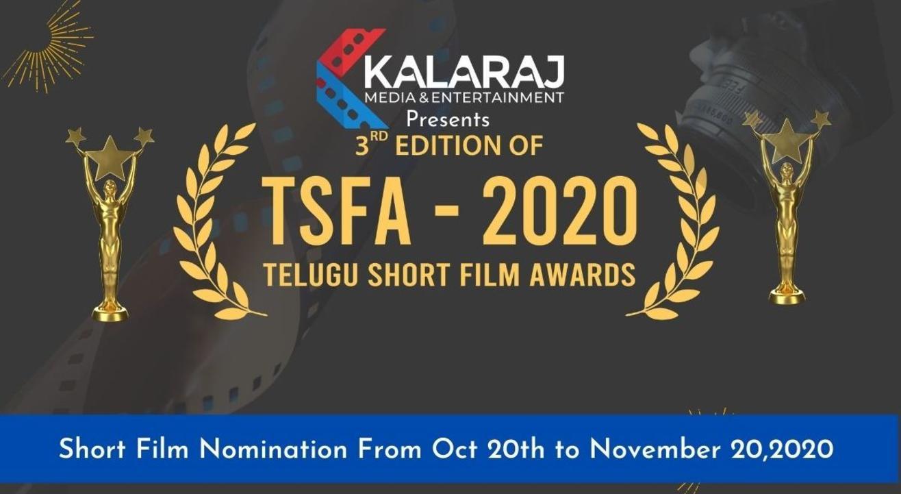 Telugu Short Film Awards-2020