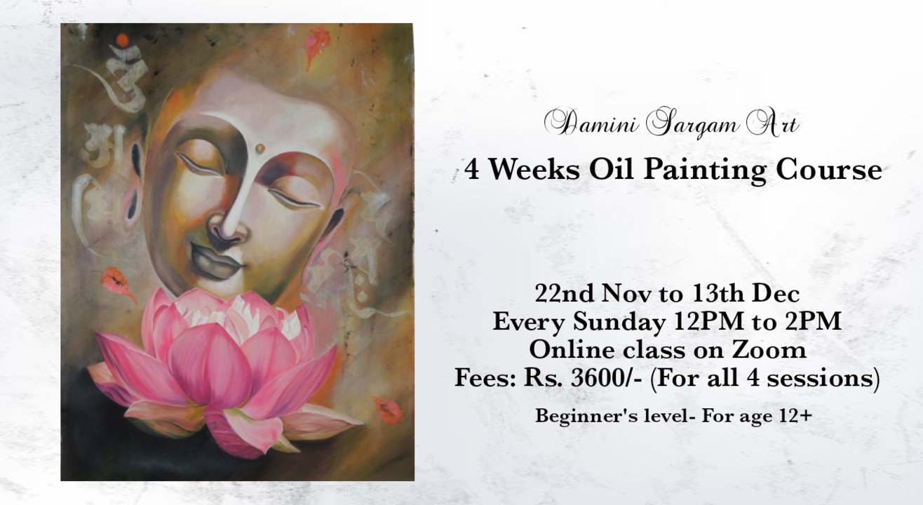 4 Weeks Oil Painting Course