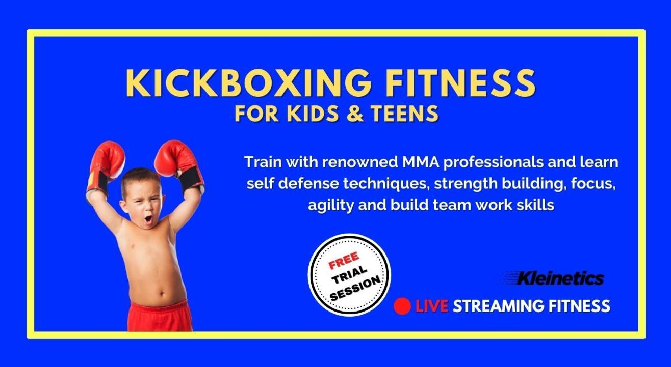 Kickboxing Fitness by Kleinetics for Kids & Teens