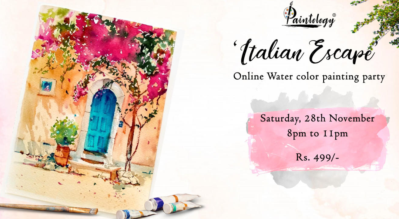 'Italian Doors' Watercolor painting workshop