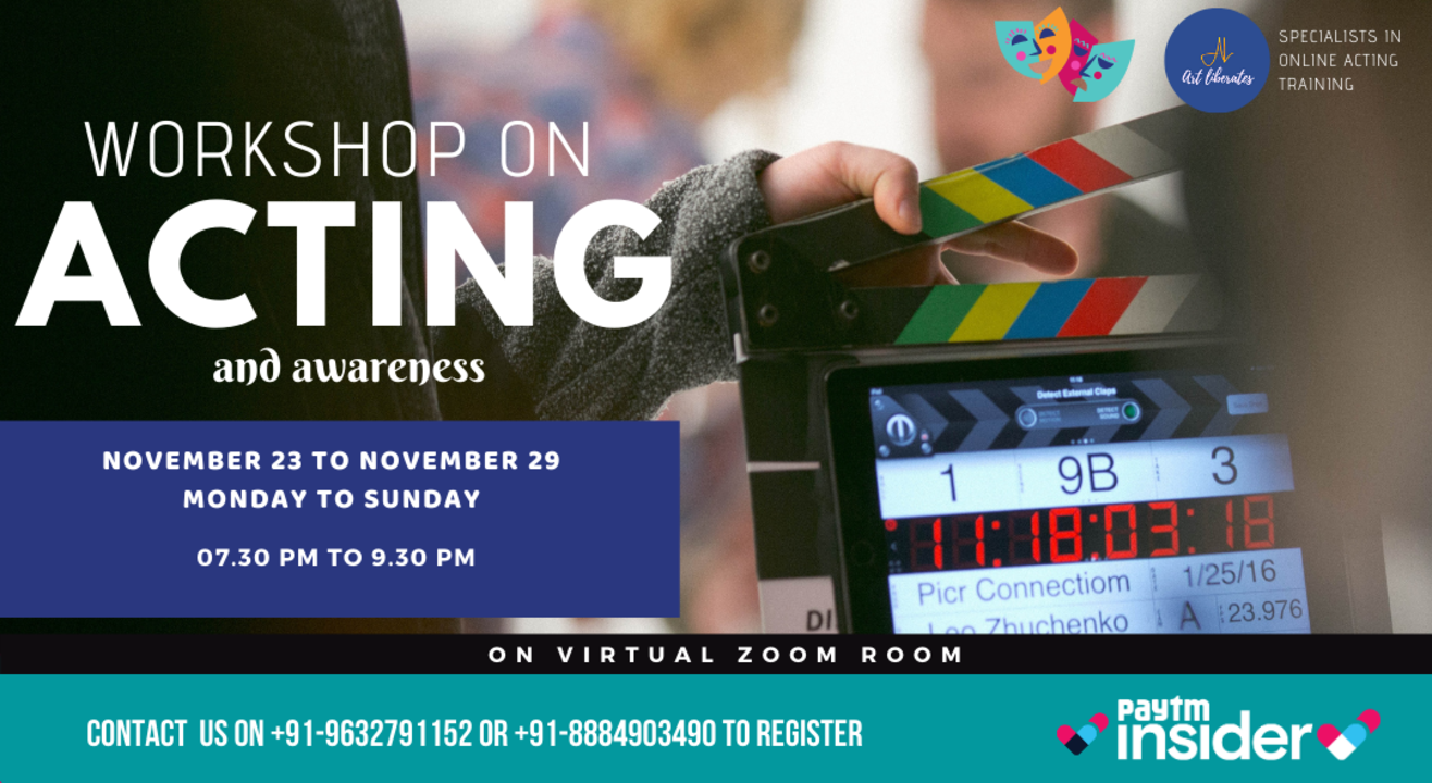 Acting Workshop Online-Art Liberates