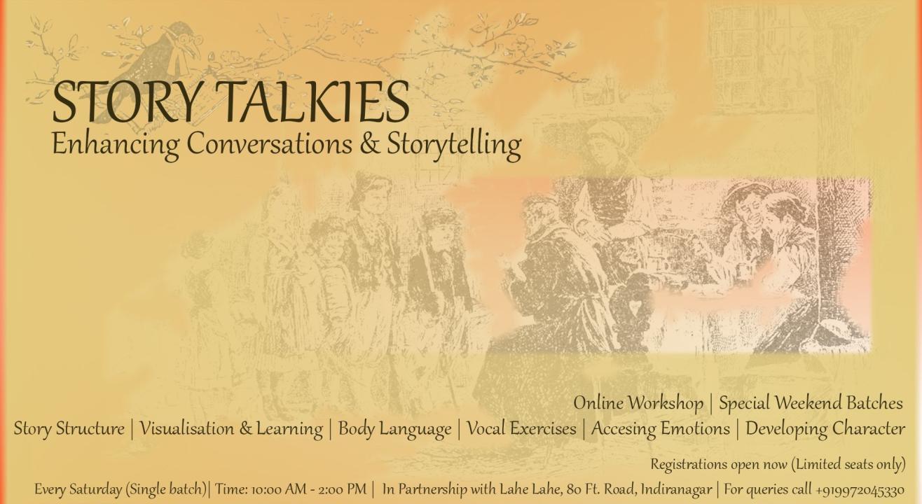 Storytelling Workshop with Deevas Gupta