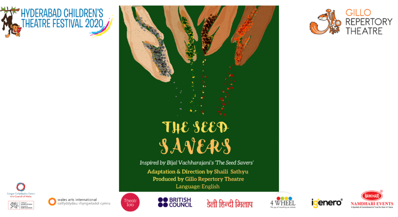 "Hyderabad Children's Theatre Festival 2020 Presents ""The Seed Savers"" by Gillo Theatre Repertory"